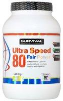 Survival Nutrition Ultra Speed 80 Fair Power vanilka 2000g - Suvrival Ultra Speed 80 Fair Power 2000 g