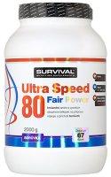 Survival Nutrition Ultra Speed 80 Fair Power borůvka 2000g - Suvrival Ultra Speed 80 Fair Power 2000 g