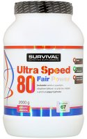 Survival Nutrition Ultra Speed 80 Fair Power jogurt-jahoda 2000g - Suvrival Ultra Speed 80 Fair Power 2000 g