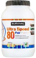 Survival Nutrition Ultra Speed 80 Fair Power ledová káva-smetana 2000g - Suvrival Ultra Speed 80 Fair Power 2000 g