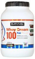 Survival Nutrition Whey Cream 100 Fair Power čokoláda 2000g - Survival Whey Cream 100 2000 g