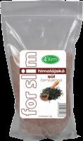 4slim Himalájská sůl černá jemná 1kg