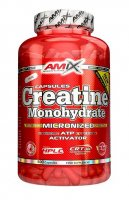 Amix Creatine monohydrate 800mg, 500 kapslí