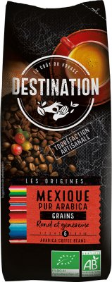 Cafe DESTINATION BIO - MEXICO CHIAPAS 250g zrnková