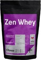 Kompava Protein Zen Whey 70% jahoda-malina, sladidlo stévie 500g