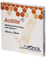 Actilite 10x10cm krytí antimicrobial s medem 10ks
