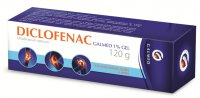 Galmed Diclofenac 1% gel 120g
