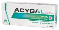 Acygal 500mg 10 tablet