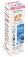 Sanorin Aqua Free Baby nosní sprej 120 ml