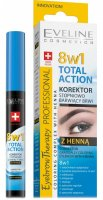 Eveline Total Action korektor na obočí s henou 10ml
