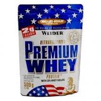 Weider Premium Whey, Jahoda-vanilka 500g