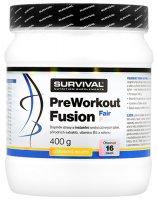 Survival Nutrition PreWorkout Fusion Fair Power citronové mojito 400g - Survival PreWorkout fusion 400 g