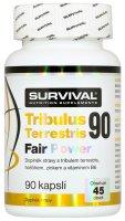 Survival Nutrition Tribulus Terrestris 90% Fair Power 90 kapslí - Survival Tribulus Terrestris 90% 90 tablet