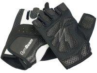 Fitness Dámské rukavice Bella - GymBeam white black – velikost M