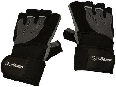 Fitness Rukavice Ronnie – Gym Beam black grey – velikost XL