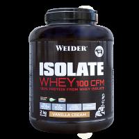Weider ISOLATE WHEY 100 CFM 100%, syrovátkový isolát, 2kg, Vanilka - cream