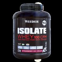 Weider ISOLATE WHEY 100 CFM 100%, syrovátkový isolát, 2kg, Jahoda - ice cream