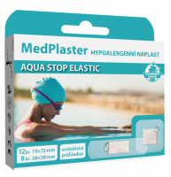 MedPlaster Náplast AQUA stop elastic 2 velikosti 20ks