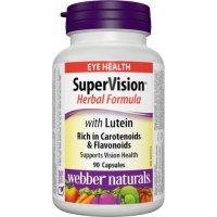 Webber Naturals SuperOční formule - Super Vision s luteinem 90 kapslí