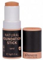 Benecos Natural Beauty kompaktní make-up Sand 6 g