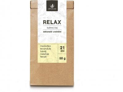 Allnature Relax Bylinný čaj 50g
