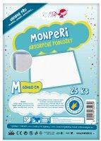 MonPeri absorpční podložky M 25 ks 60 x 60 cm
