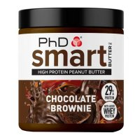 PhD Nutrition Smart Peanut Butter Chocolate Brownie 250g