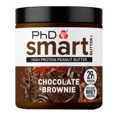 PhD Nutrition Smart Peanut Butter Chocolate Brownie 250g
