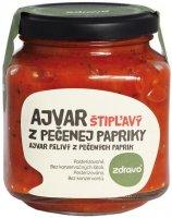ZDRAVO Ajvar z pečené papriky pálivý 300g