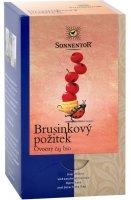 Sonnentor Brusinkový požitek bio ovocný čaj porcovaný 50.4 g