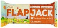Flapjack ovesný s polevou s čokoládovou příchutí bezlepkový 80 g