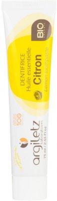 Argiletz Zubní pasta s bílým a žlutým jílem citron BIO 75ml