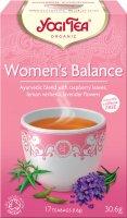 Yogi Tea Bio Rovnováha ženy 17x1,8g