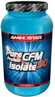 Aminostar Pure CFM Whey Protein Isolate 90, Jahoda, 1000g