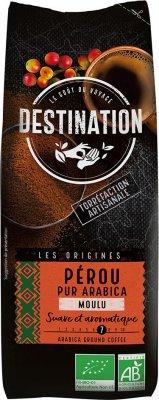 Destination Bio káva mletá Peru 250g