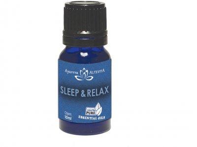 Altevita směs esenciálních olejů EO spánek a uvolnění 10 ml
