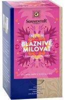 Sonnentor Štěstí je bláznivě milovat bio porcovaný dvoukomorový čaj 36 g
