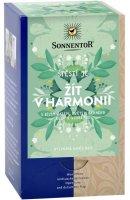 Sonnentor Štěstí je žít v harmonii bio porcovaný dvoukomorový čaj 27 g