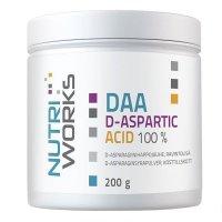 NutriWorks DAA D-Aspartic Acid 200g