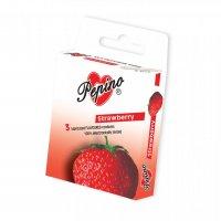 Prezervativ - kondom Pepino Jahoda 3 ks