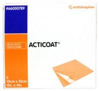 Acticoat krytí antimikrobiotické s nanokry 10x10cm 5ks