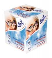 Linteo Vlhčené ubrousky na čištění brýlí 50ks