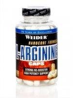 Weider, L-Arginine Caps, 100 kapslí