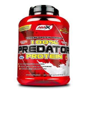 Amix 100% Predator protein, banán, 2000g
