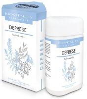 TOPVET Biovitality Deprese bylinná směs tobolky 60