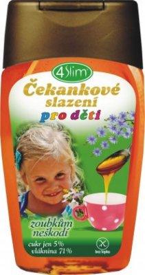 4slim Čekankové slazení pro děti 250g - 4SLIM Čekankové slazení pro děti 250 g