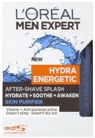 L´Oréal Paris Men Expert Hydra Energetic Skin Purifier pánská voda po holení 100ml