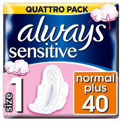 Always vložky Ultra Sensitive Normal Quatro 40ks