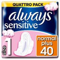 Always vložky Ultra Sensitive Normal Quatro 40ks