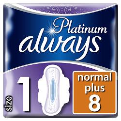 Always vložky Ultra Platinum Normal 10ks